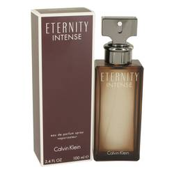 Eternity Intense Perfume by Calvin Klein, 3.4 oz Eau De Parfum Spray for Women