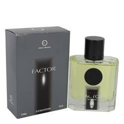 Factor Turbo Cologne by Eclectic Collections, 3.4 oz Eau De Parfum Spray for Men
