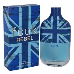 Fcuk Rebel Cologne by French Connection, 3.4 oz Eau De Toilette Spray for Men