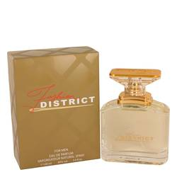 Fashion District Cologne by Fashion District, 3.4 oz Eau De Parfum Spray for Men