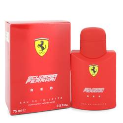 Ferrari Scuderia Red Cologne by Ferrari, 75 ml Eau De Toilette Spray for Men