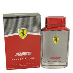 Ferrari Scuderia Club Cologne by Ferrari, 4.2 oz Eau De Toilette Spray for Men