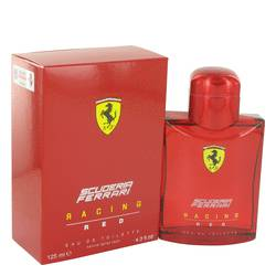 Ferrari Scuderia Racing Red Cologne by Ferrari, 4.2 oz Eau De Toilette Spray for Men