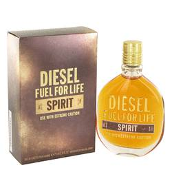 Fuel For Life Spirit Cologne by Diesel, 75 ml Eau De Toilette Spray for Men