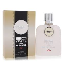 50 Years Ford Mustang Perfume by Ford, 3.4 oz Eau De Parfum Spray for Women