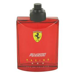 Ferrari Scuderia Racing Red Cologne by Ferrari, 4.2 oz Eau De Toilette Spray (Tester) for Men