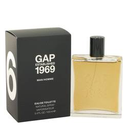 Gap 1969 Cologne by Gap, 100 ml Eau De Toilette Spray for Men