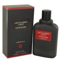 Gentlemen Only Absolute Cologne by Givenchy, 3.3 oz Eau De Parfum Spray for Men