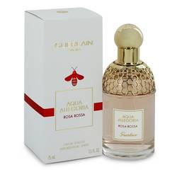 Aqua Allegoria Rosa Rossa Perfume by Guerlain, 2.5 oz Eau De Toilette Spray for Women