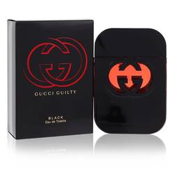 Gucci Guilty Black Perfume by Gucci, 2.5 oz Eau De Toilette Spray for Women