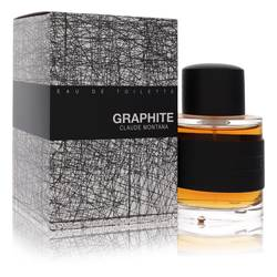 Graphite Cologne by Claude Montana, 3.4 oz Eau De Toilette Spray for Men