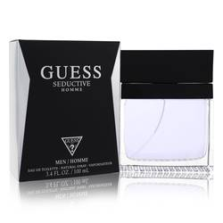 Guess Seductive Cologne by Guess 3.4 oz Eau De Toilette Spray