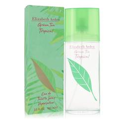 Green Tea Tropical Perfume by Elizabeth Arden 3.3 oz Eau De Toilette Spray