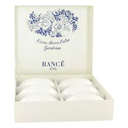 Rance Soaps Perfume by Rance 6  x 3.5 oz Gardenia Soap Box