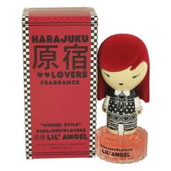 Harajuku Lovers Wicked Style Lil' Angel Perfume by Gwen Stefani, 1 oz Eau De Toilette Spray for Women