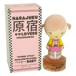 Harajuku Lovers Wicked Style Baby Perfume by Gwen Stefani 1 oz Eau De Toilette Spray