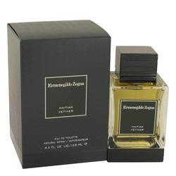 Haitian Vetiver Cologne by Ermenegildo Zegna, 125 ml Eau De Toilette Spray for Men