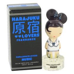 Harajuku Lovers Music Perfume by Gwen Stefani 0.33 oz Eau De Toilette Spray