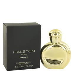 Halston Man Amber Cologne by Halston, 75 ml Eau De Toilette Spray for Men