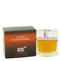 Homme Exceptionnel Cologne by Mont Blanc 1.7 oz Eau De Toilette Spray