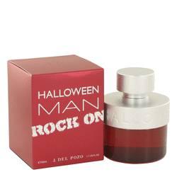 Halloween Man Rock On Cologne by Jesus Del Pozo, 1.7 oz Eau De Toilette Spray for Men