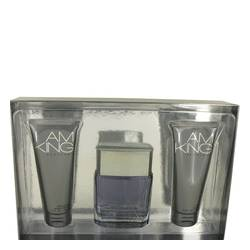 I Am King Cologne by Sean John -- Gift Set - 3.4 oz Eau De Toilette Spray + 3.4 oz After Shave Balm + 3.4 oz Shower Gel