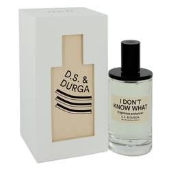 I Don't Know What Perfume by D.S. & Durga, 3.4 oz Eau De Parfum Spray (Unisex) for Women