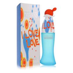 I Love Love Perfume by Moschino 3.4 oz Eau De Toilette Spray