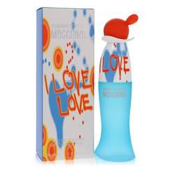 I Love Love Perfume by Moschino, 1.7 oz Eau De Toilette Spray for Women