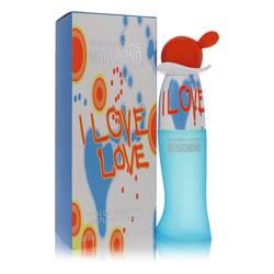 I Love Love Perfume by Moschino, 1 oz Eau De Toilette Spray for Women