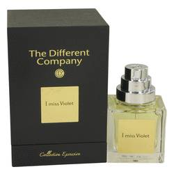 I Miss Violet Cologne by The Different Company, 1.7 oz Eau De Parfum Spray for Women