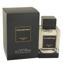 Indonesian Oud Cologne by Ermenegildo Zegna, 125 ml Eau De Toilette Spray for Men