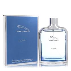 Jaguar Classic Cologne by Jaguar, 3.4 oz Eau De Toilette Spray for Men