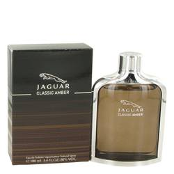 Jaguar Classic Amber Cologne by Jaguar, 3.4 oz Eau De Toilette Spray for Men