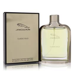 Jaguar Classic Gold Cologne by Jaguar, 3.4 oz Eau De Toilette Spray for Men