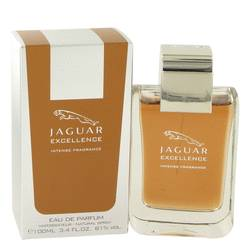 Jaguar Excellence Intense Cologne by Jaguar, 100 ml Eau De Parfum Spray for Men from FragranceX.com