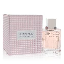 Jimmy Choo Illicit Flower Perfume by Jimmy Choo, 3.3 oz Eau De Toilette Spray for Women