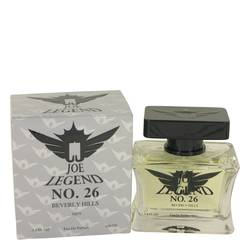Joe Legend No. 26 Cologne by Joseph Jivago, 100 ml Eau De Parfum Spray for Men