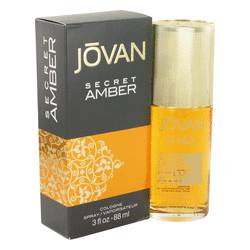 Jovan Secret Amber Perfume by Jovan 3 oz Cologne Spray