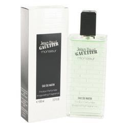 Jean Paul Gaultier Monsieur Eau Du Matin Cologne by Jean Paul Gaultier, 100 ml Friction Parfumee Invigorating Fragrance for Men
