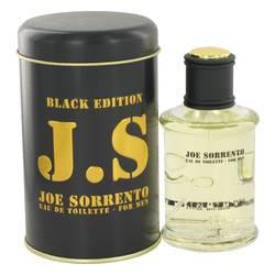Joe Sorrento Black Cologne by Jeanne Arthes, 3.3 oz Eau De Toilette Spray for Men jsblack33