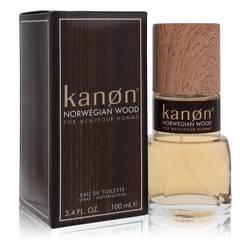 Kanon Norwegian Wood Cologne by Kanon, 3.3 oz Eau De Toilette Spray for Men