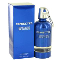Kenneth Cole Reaction Connected Cologne by Kenneth Cole, 4.2 oz Eau De Toilette Spray for Men