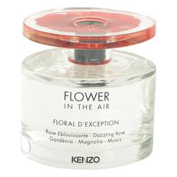 Kenzo Flower In The Air Floral D'exception Perfume by Kenzo, 3.4 oz Eau De Parfum Spray (Tester) for Women