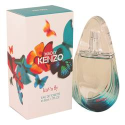 Kenzo Madly Kiss N Fly Perfume by Kenzo, 1.7 oz Eau De Toilette Spray for Women