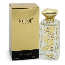 Korloff Gold Perfume by Korloff, 3 oz Eau De Parfum Spray for Women