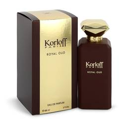 Korloff Royal Oud Perfume by Korloff, 3 oz Eau De Parfum Spray (Unisex) for Women