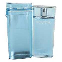 Kouros Summer Cologne by Yves Saint Laurent, 3.4 oz Eau D'ete Summer Fragrance (Turquoise) for Men