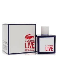 Lacoste Live Cologne by Lacoste, 100 ml Eau De Toilette Spray for Men from FragranceX.com