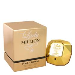 Lady Million Absolutely Gold Perfume by Paco Rabanne, 80 ml Eau De Parfum Spray for Women from FragranceX.com